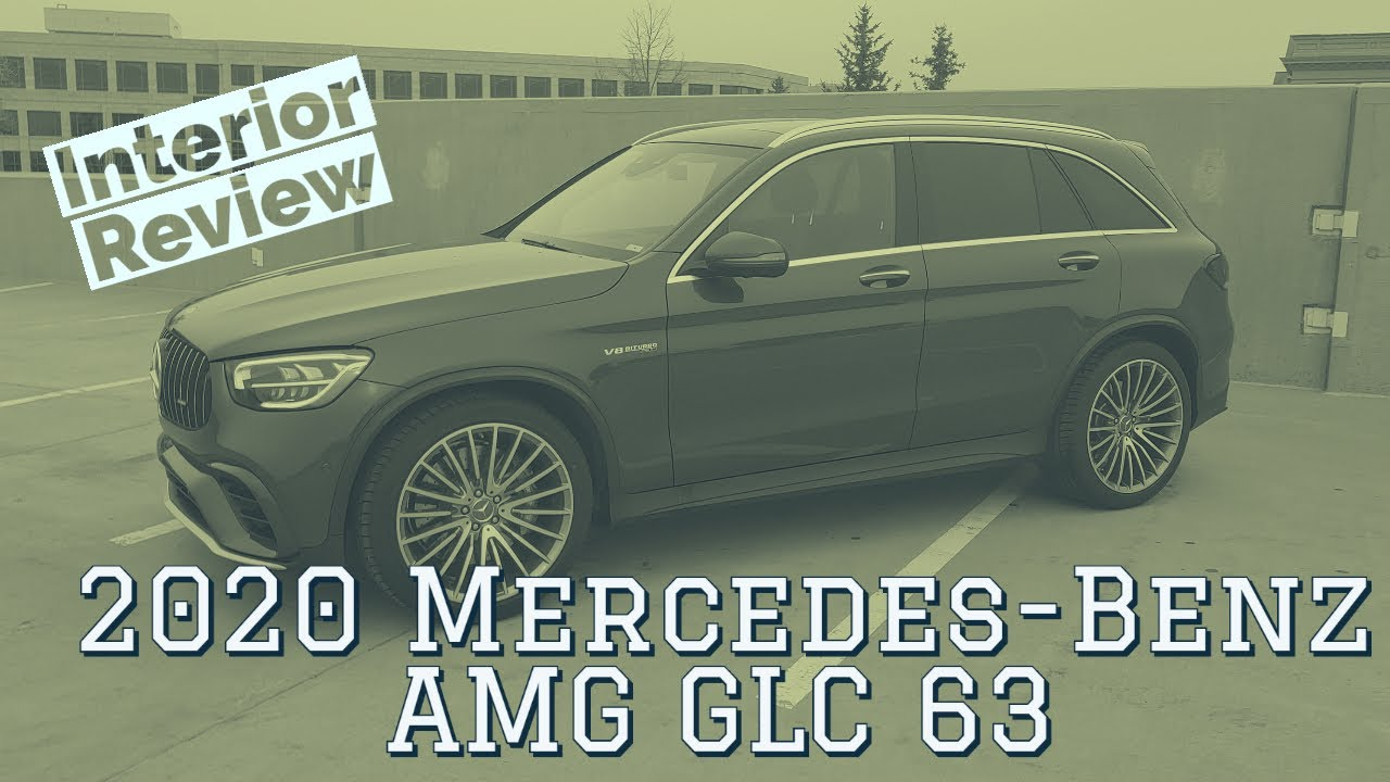 2020 Mercedes Benz AMG GLC63 interior walkthrough