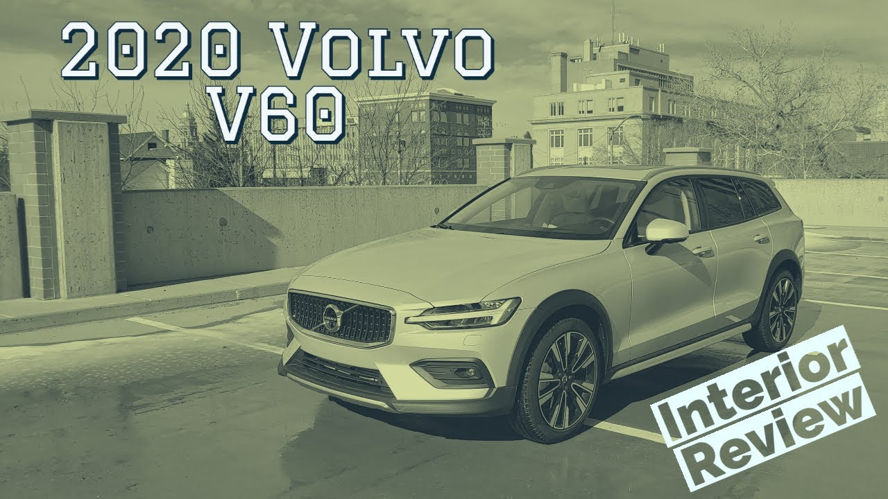 2020 Volvo V60 interior walkthrough