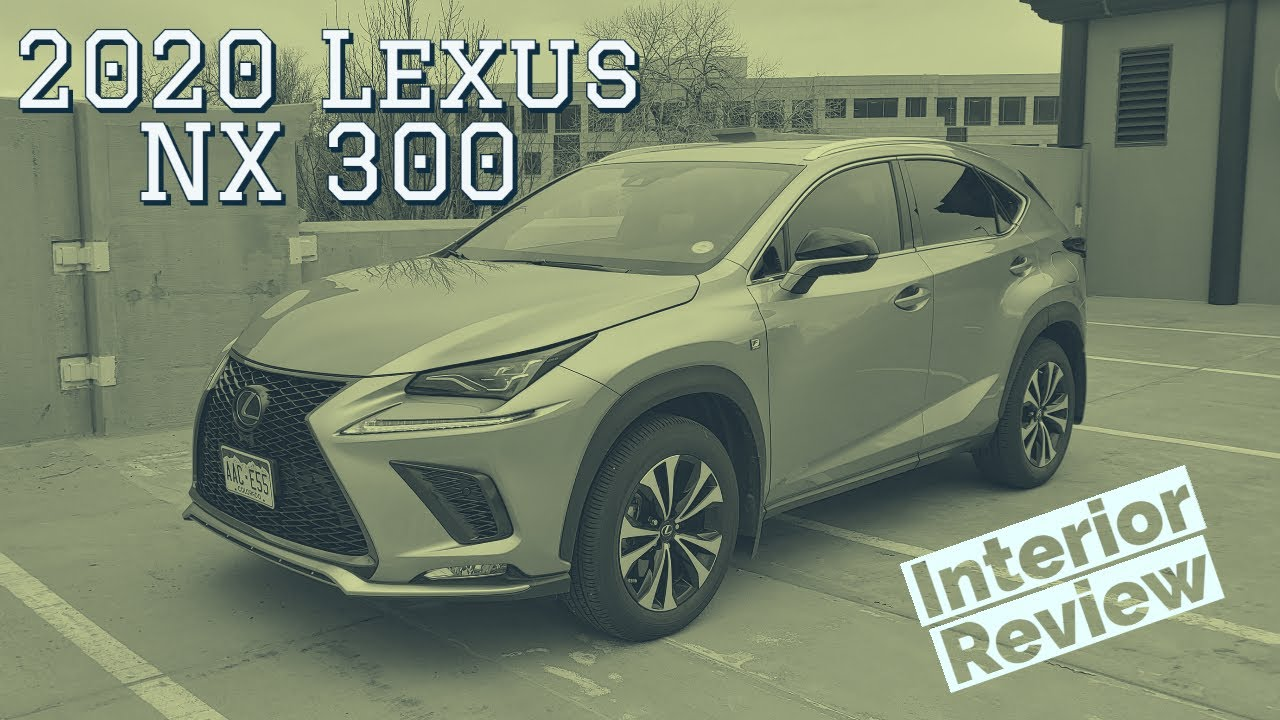 2020 Lexus NX interior walkthrough