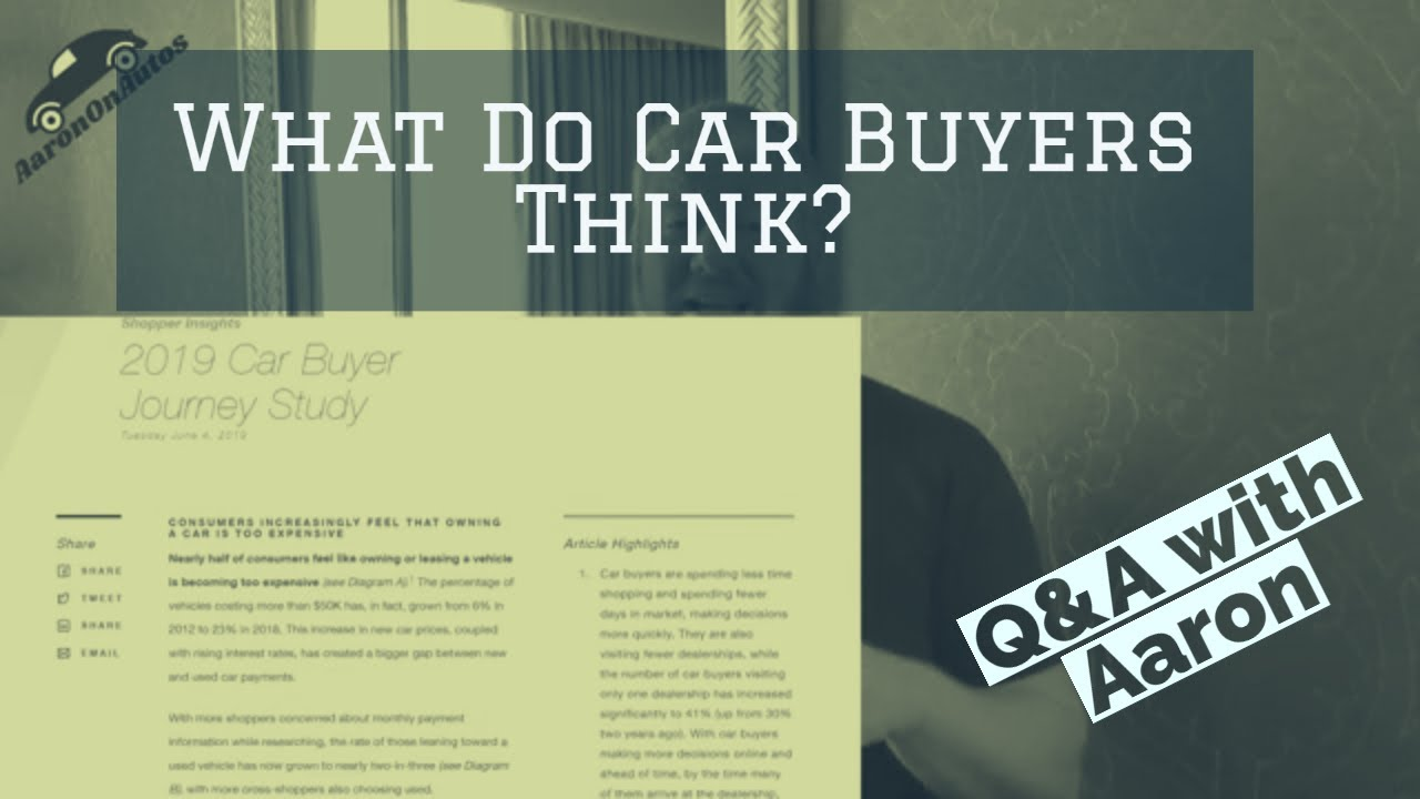 Q&A: What Are Automotive Buying Behaviors?