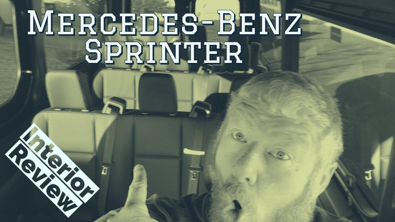 Mercedes Benz Sprinter interior walkthrough