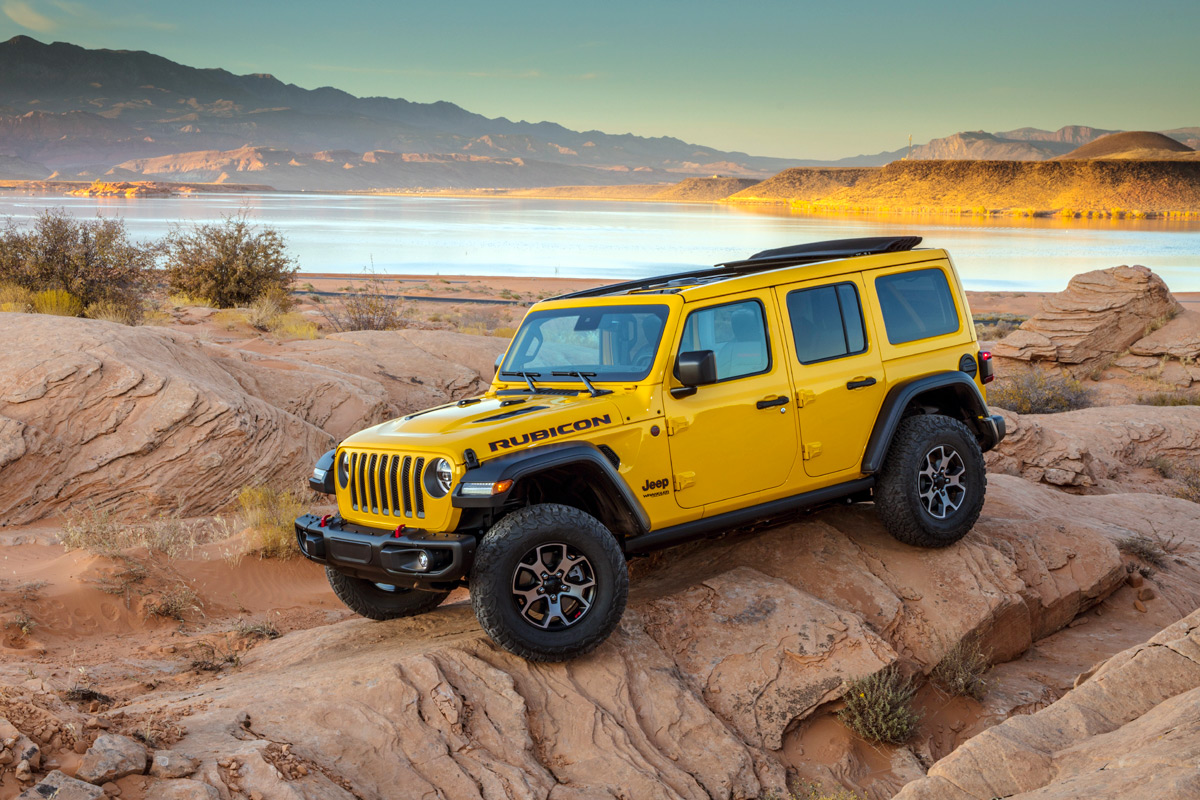 2020 Jeep Wrangler Offers Gobs Of Torque With EcoDiesel Engine
