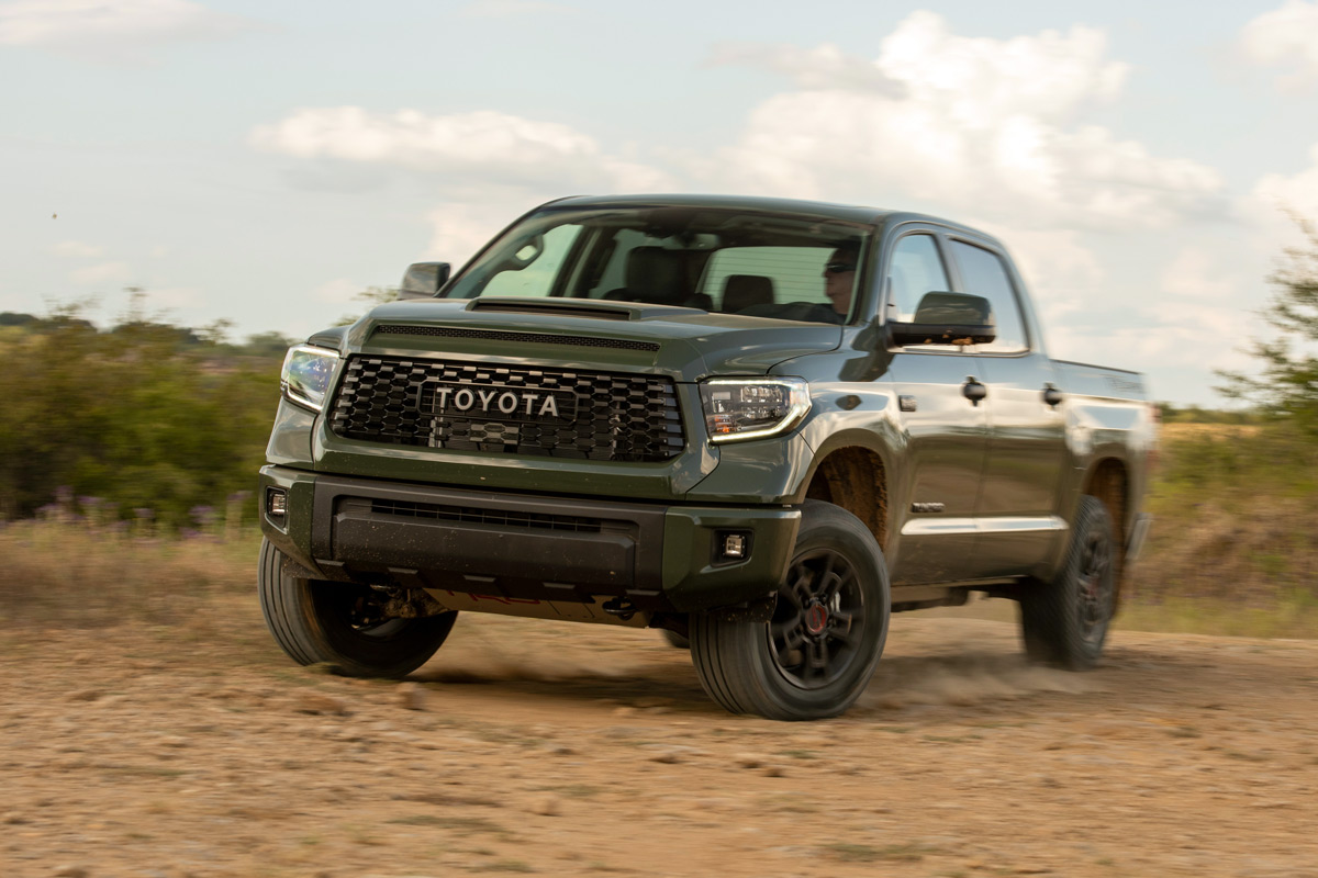 The 2020 Toyota Tundra TRD Pro Is An Off-Road Beast