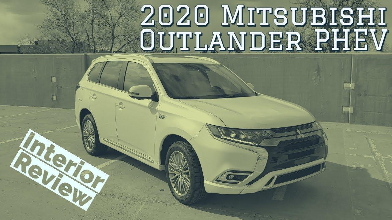 2020 Mitsubishi Outlander PHEV interior walkthrough
