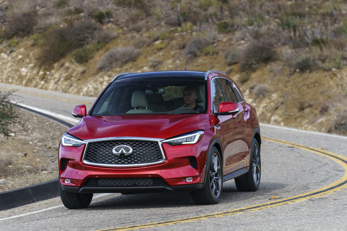 2020 Infiniti QX50 Hits the Nail Squarely, But Doesn't Quite Drive It In