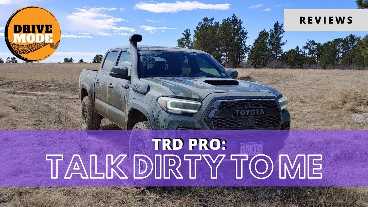2020 Toyota Tacoma TRD Pro Gettin Muddy