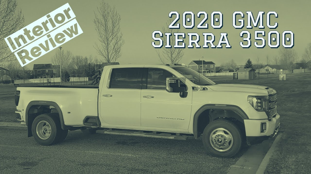 2020 GMC Sierra 3500 Denali interior walkthrough