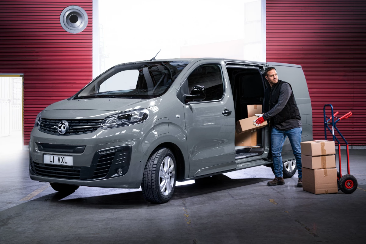 Vauxhall takes the covers off its new Vivaro-e all-electric delivery van
