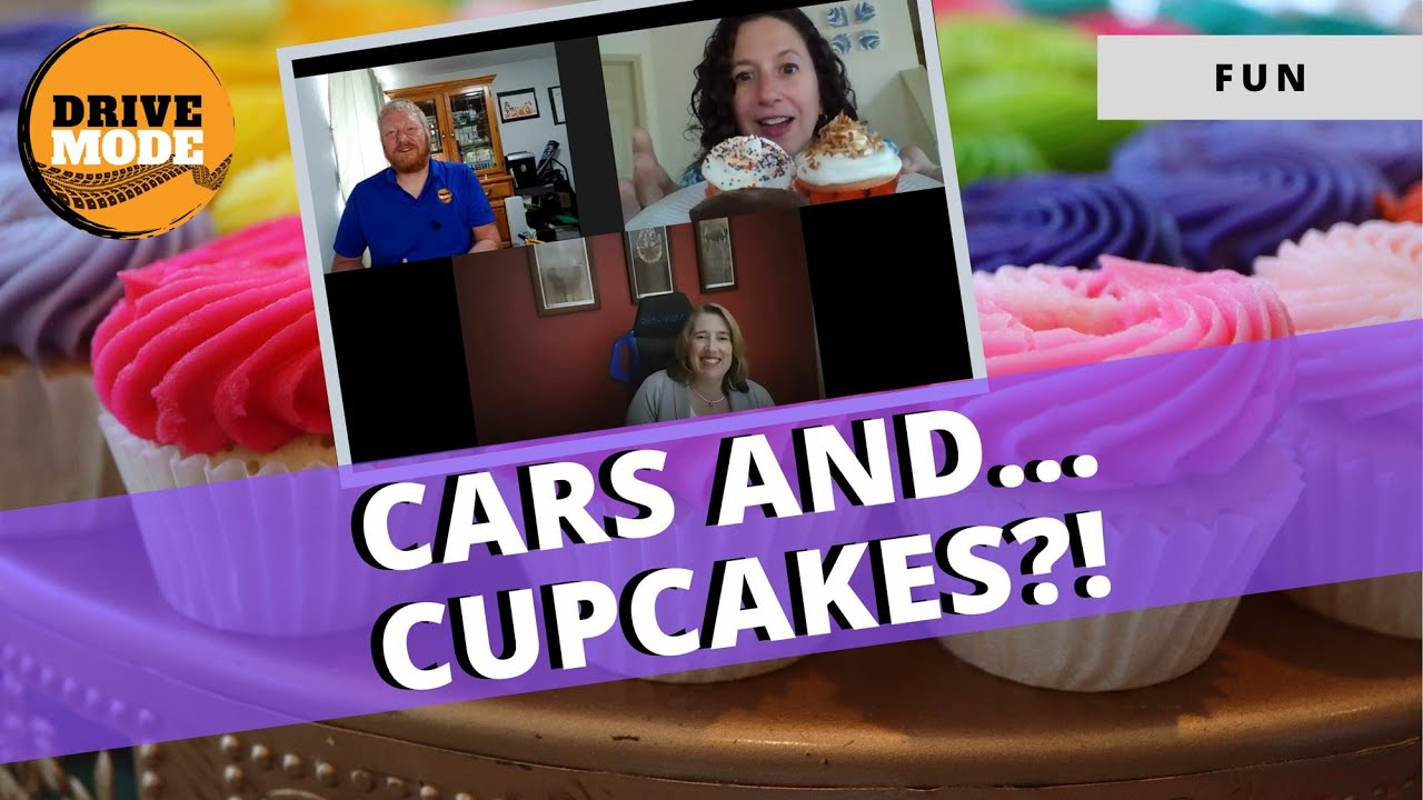 Cupcakes and Cars – Social Distancing With Pastries