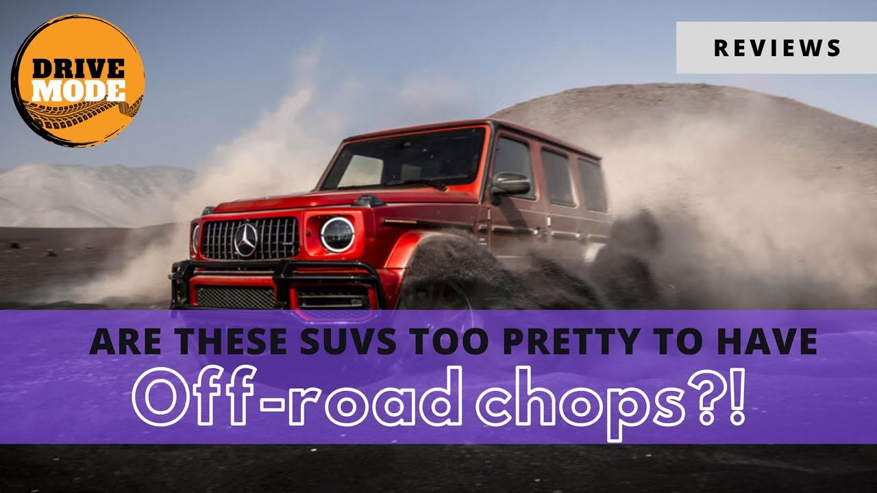 Take a Mercedes Off-Road? They're Better Than You Think