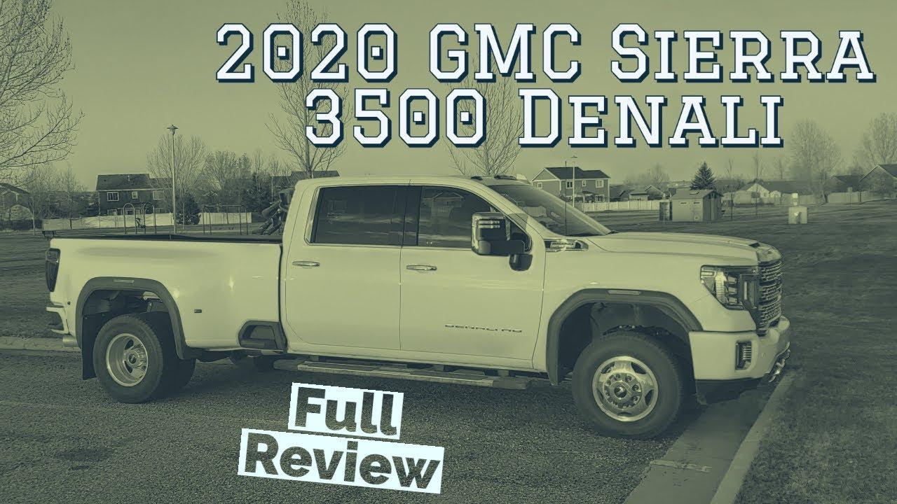 2020 GMC Sierra 3500 Denali Review