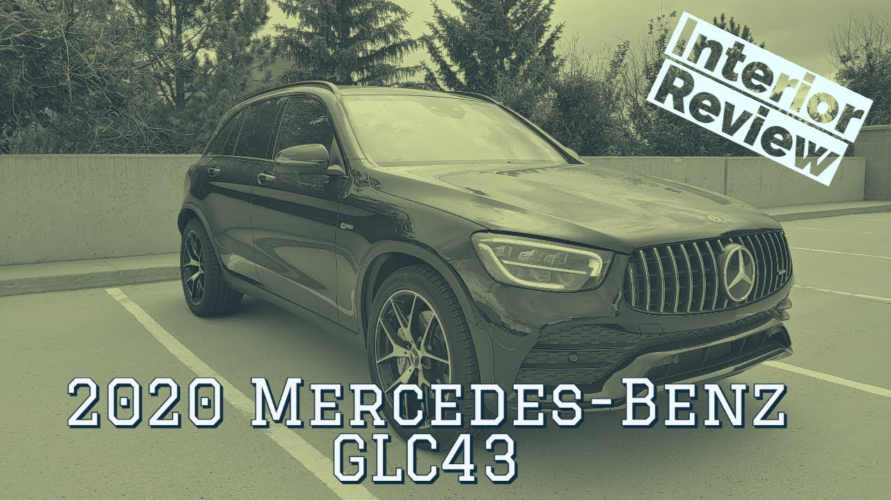 2020 Mercedes-Benz AMG GLC43 interior walkthrough
