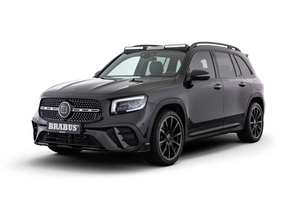 Brabus adds uber-outfitting for Mercedes-Benz GLB-Class SUV