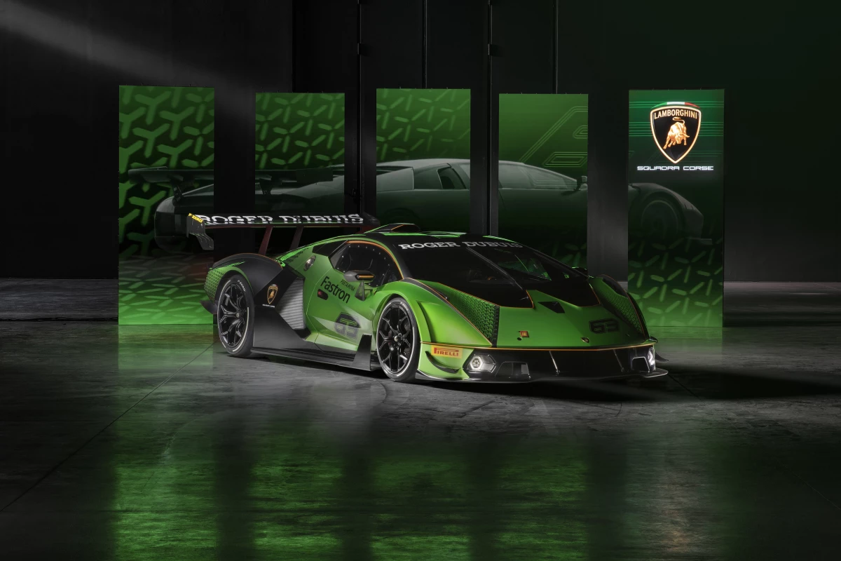 Lamborghini unveils limited-edition, track-only Essenza SCV12 hypercar