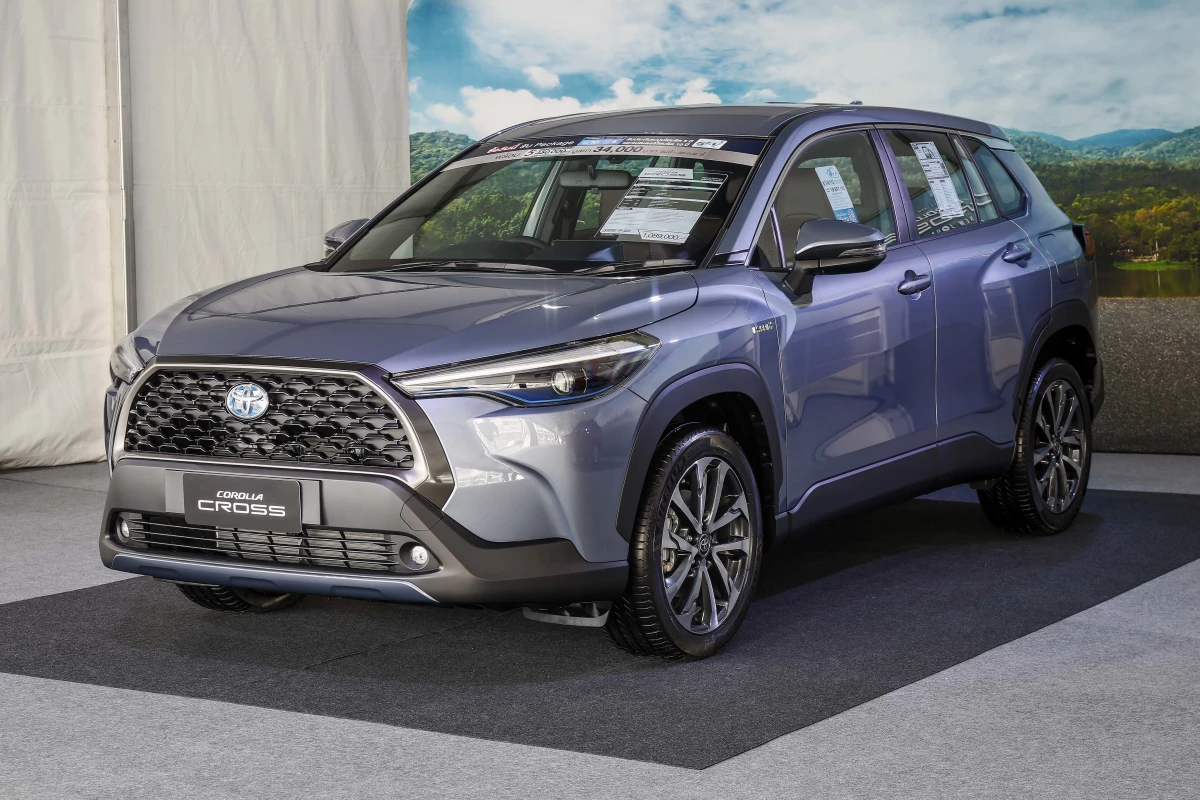Toyota launches new Corolla Cross crossover in Thailand, heading global