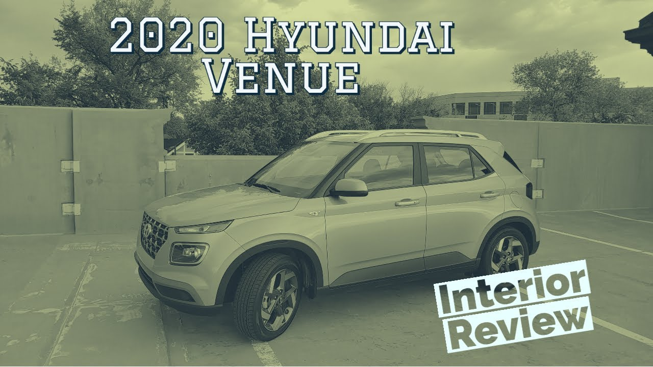 2020 Hyundai Venue interior walkthrough