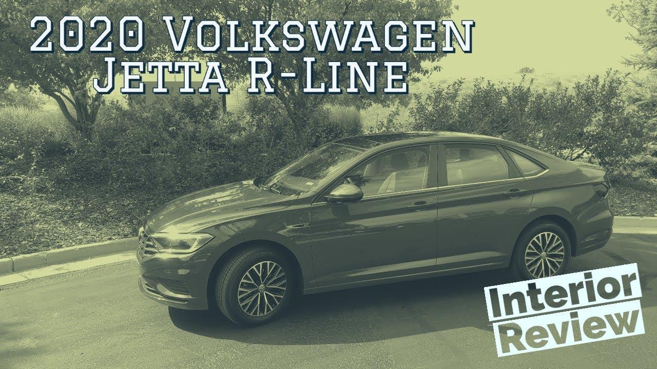 2020 Volkswagen Jetta R Line interior walkthrough