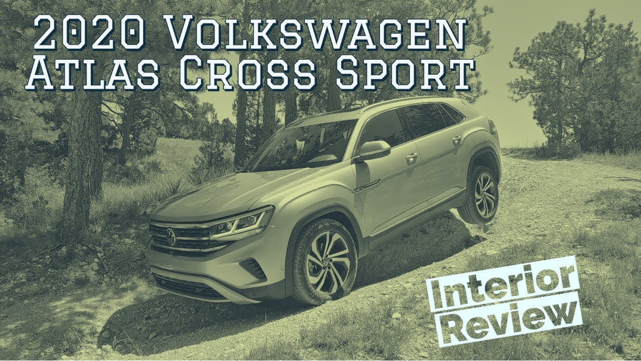2020 Volkswagen Atlas Cross Sport interior walkthrough