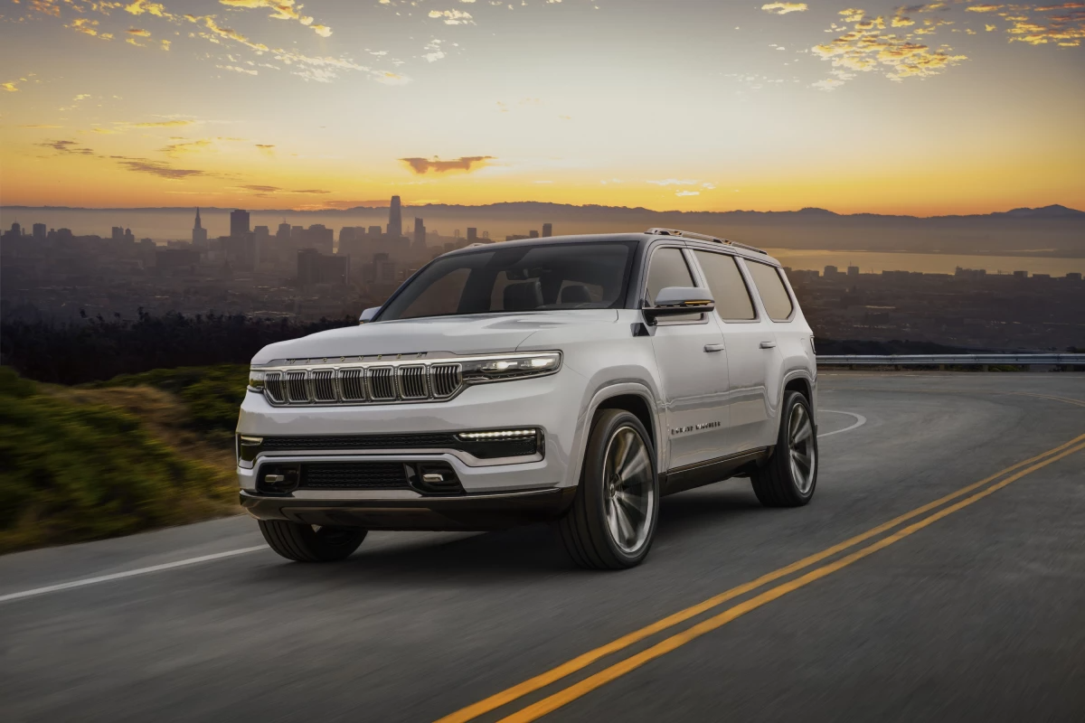 Grand Wagoneer Concept introduced as a Jeep model –and sub-brand