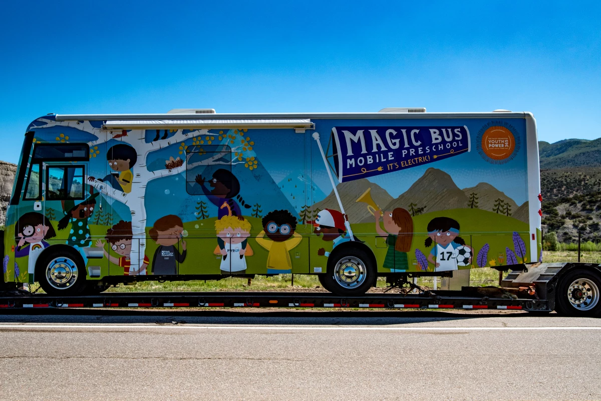 "Electric Winnebago to bring early education as ""Magic Bus"" in Colorado"