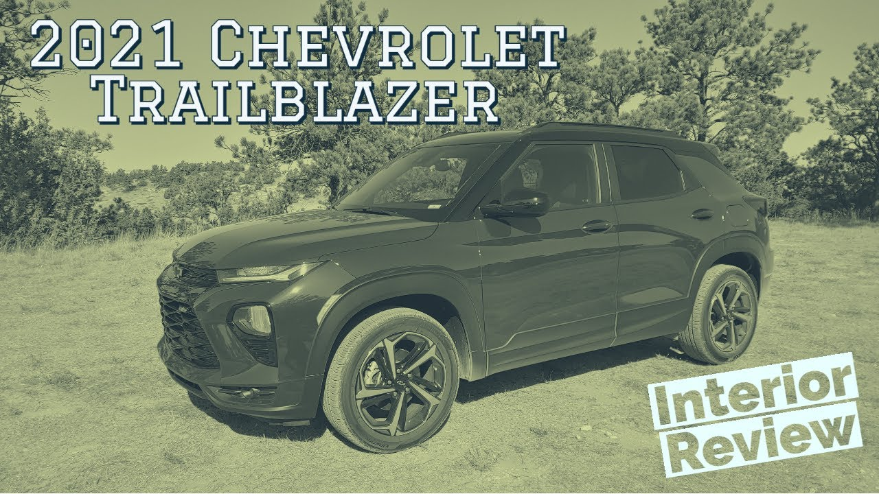 2021 Chevrolet Trailblazer interior walkthrough