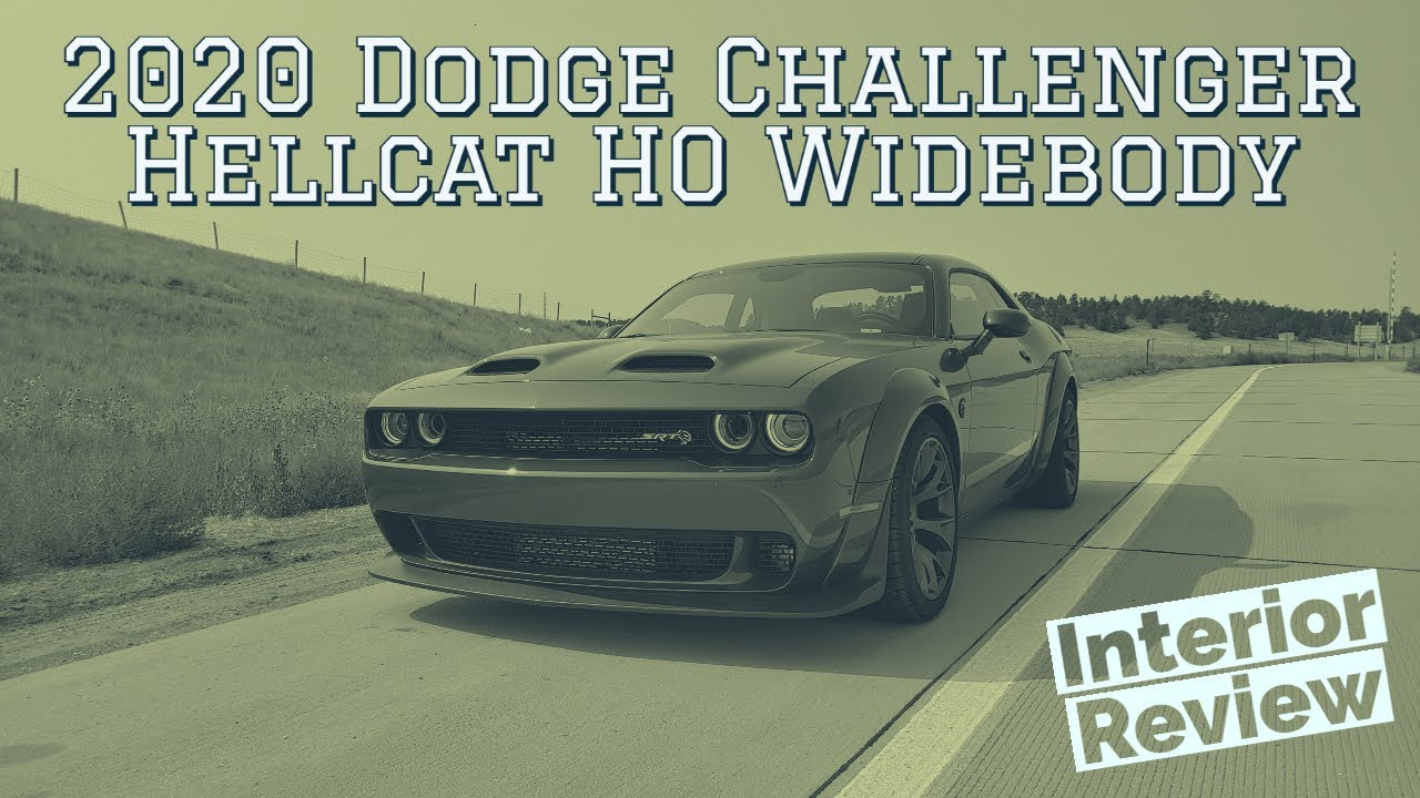 2020 Dodge Challenger Hellcat HO Widebody interior