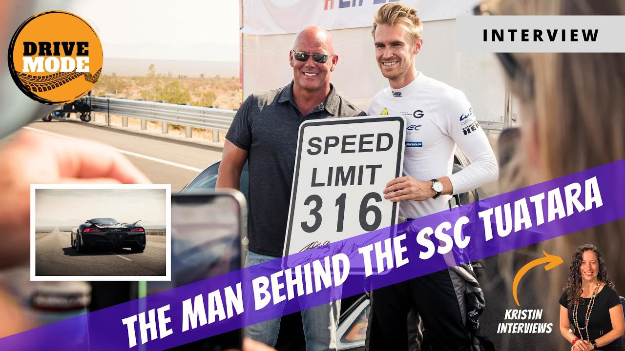 Interview with Jerod Shelby of SSC and the fastest car in the world