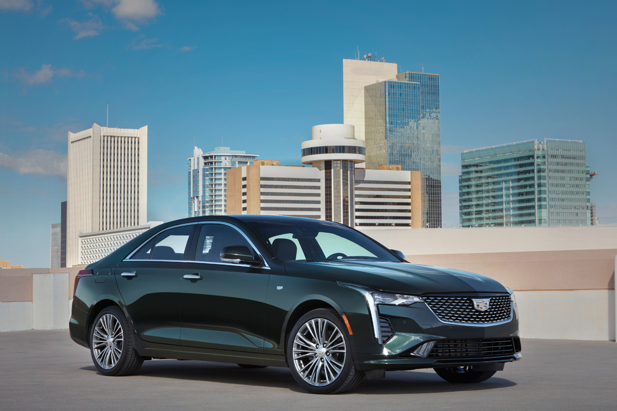The 2020 Cadillac CT4 Is The Perfect Blend Of Sports And Luxury