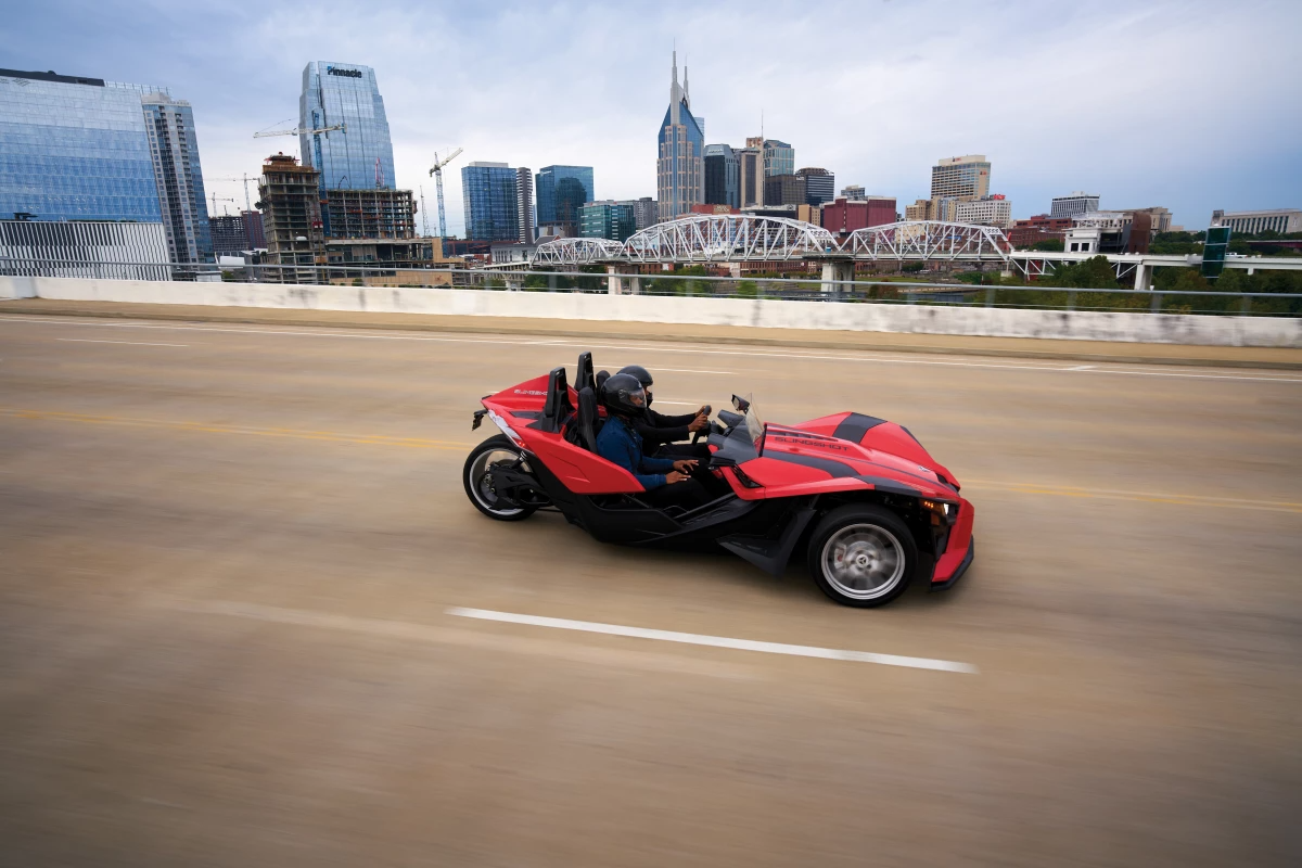 2021 Polaris Slingshot gets the transmission we wanted