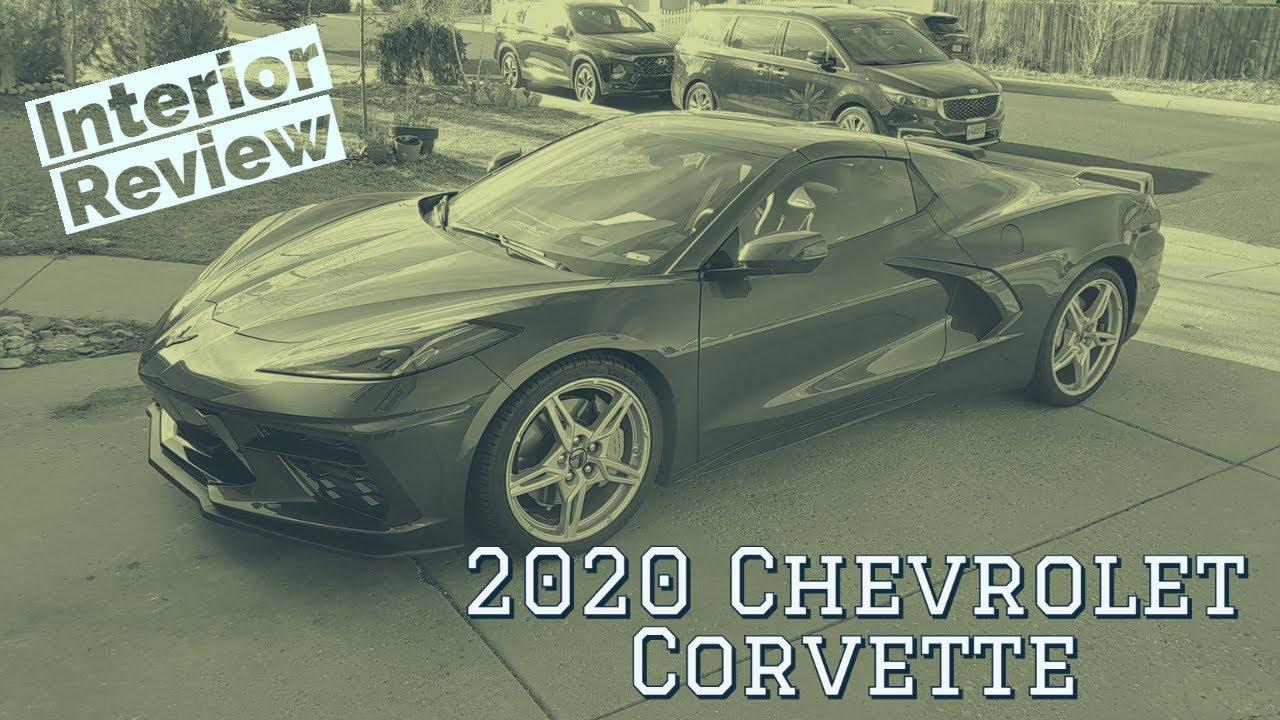 2020 Chevrolet Corvette interior walkthrough