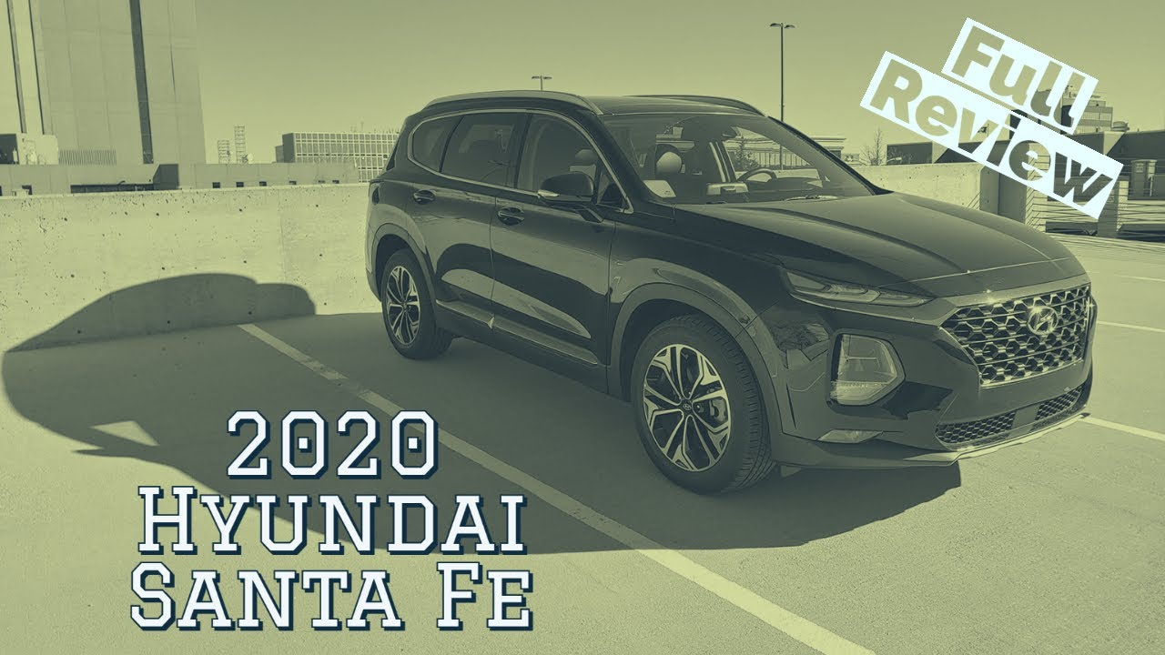 Review: 2020 Hyundai Santa Fe