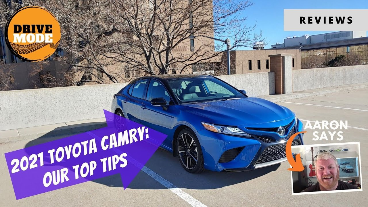 Learn More About the 2021 Toyota Camry XSE