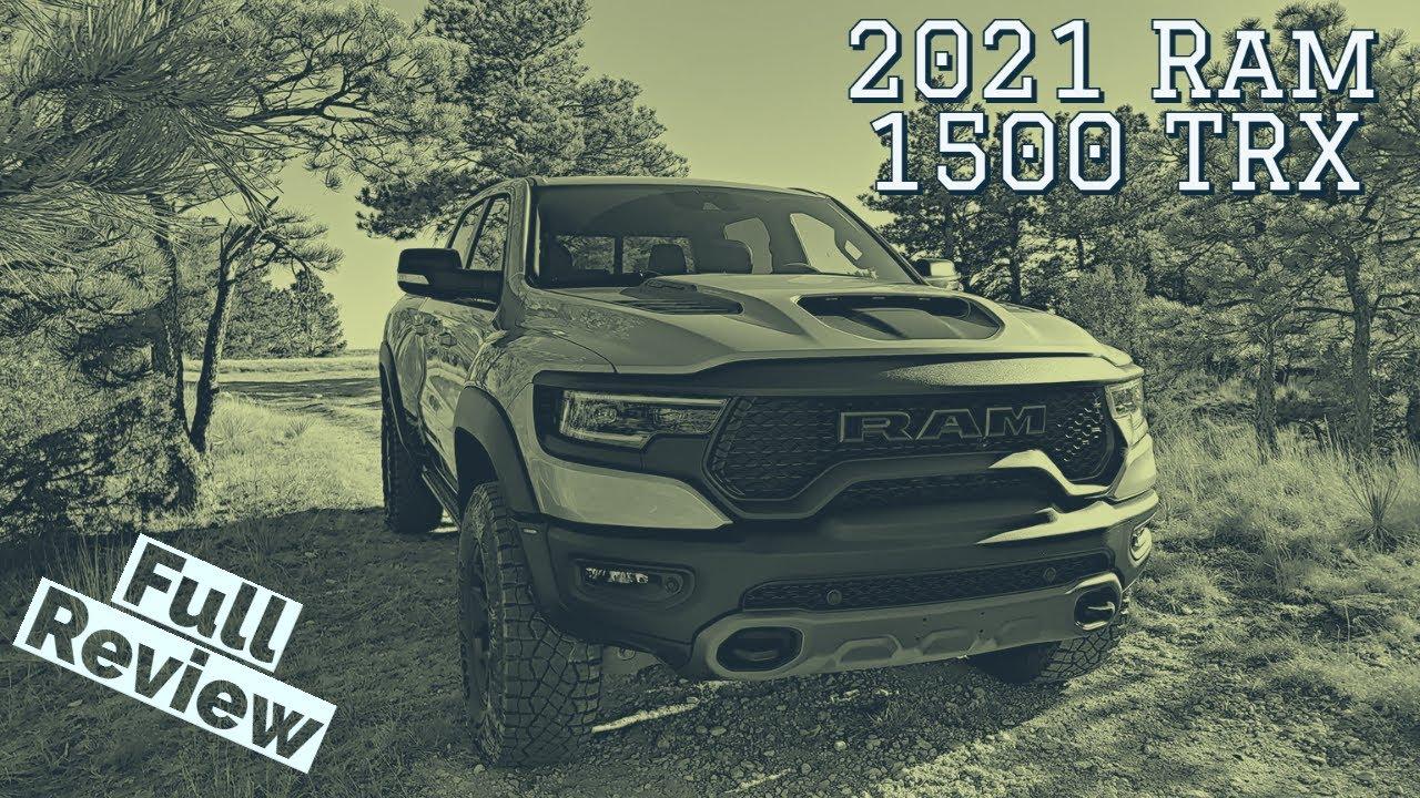 2021 Ram 1500 TRX Is a BEAST
