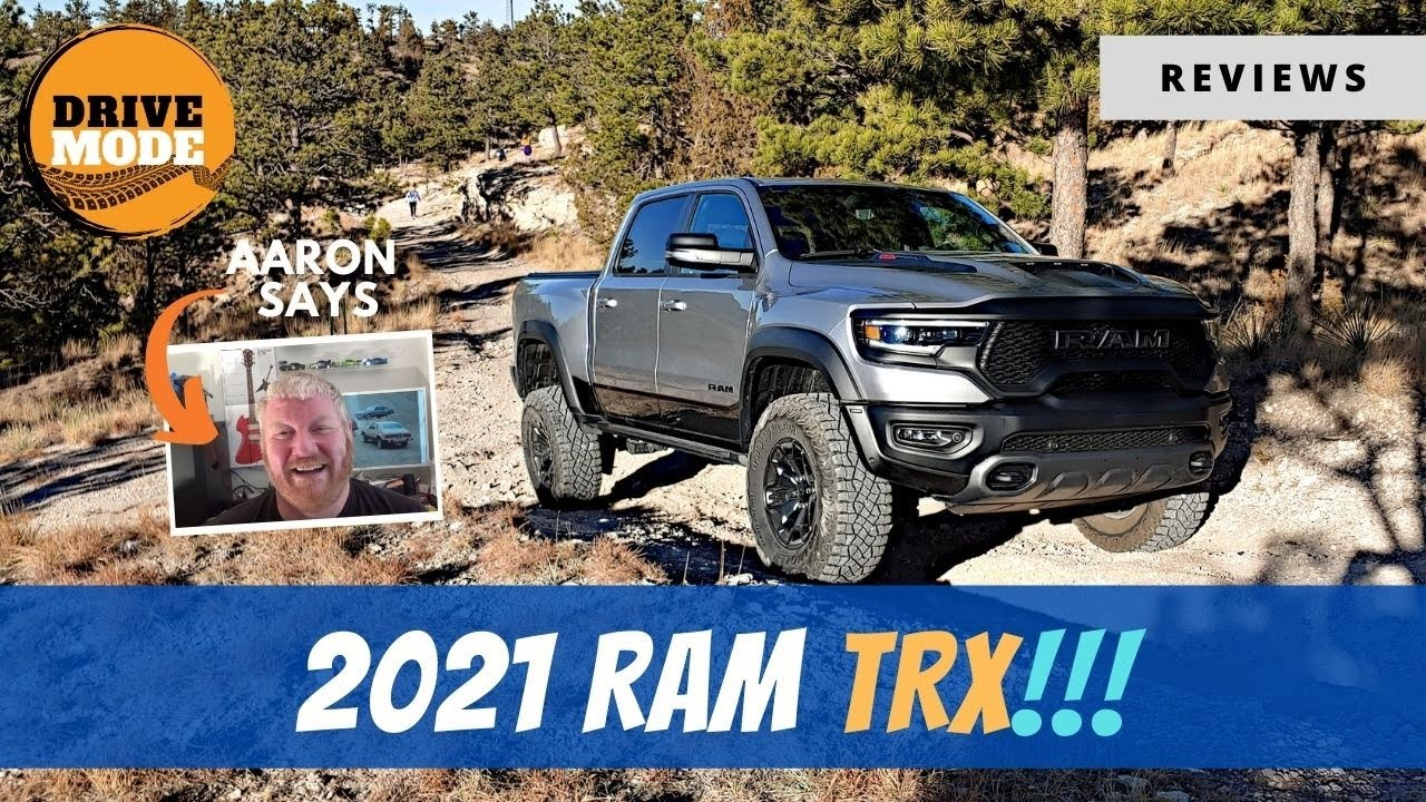 2021 Ram 1500 TRX – The Hellcat Pickup
