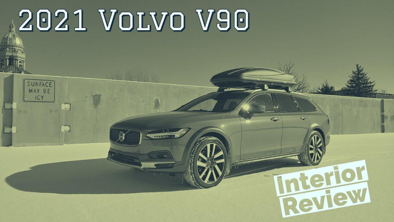 2021 Volvo V90 Interior Walkthrough
