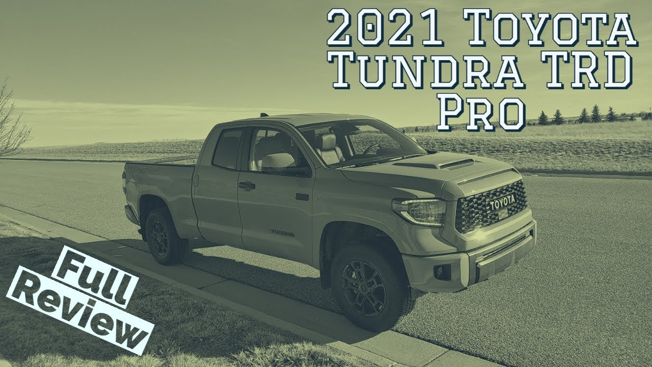 2021 Toyota Tundra TRD Pro Review