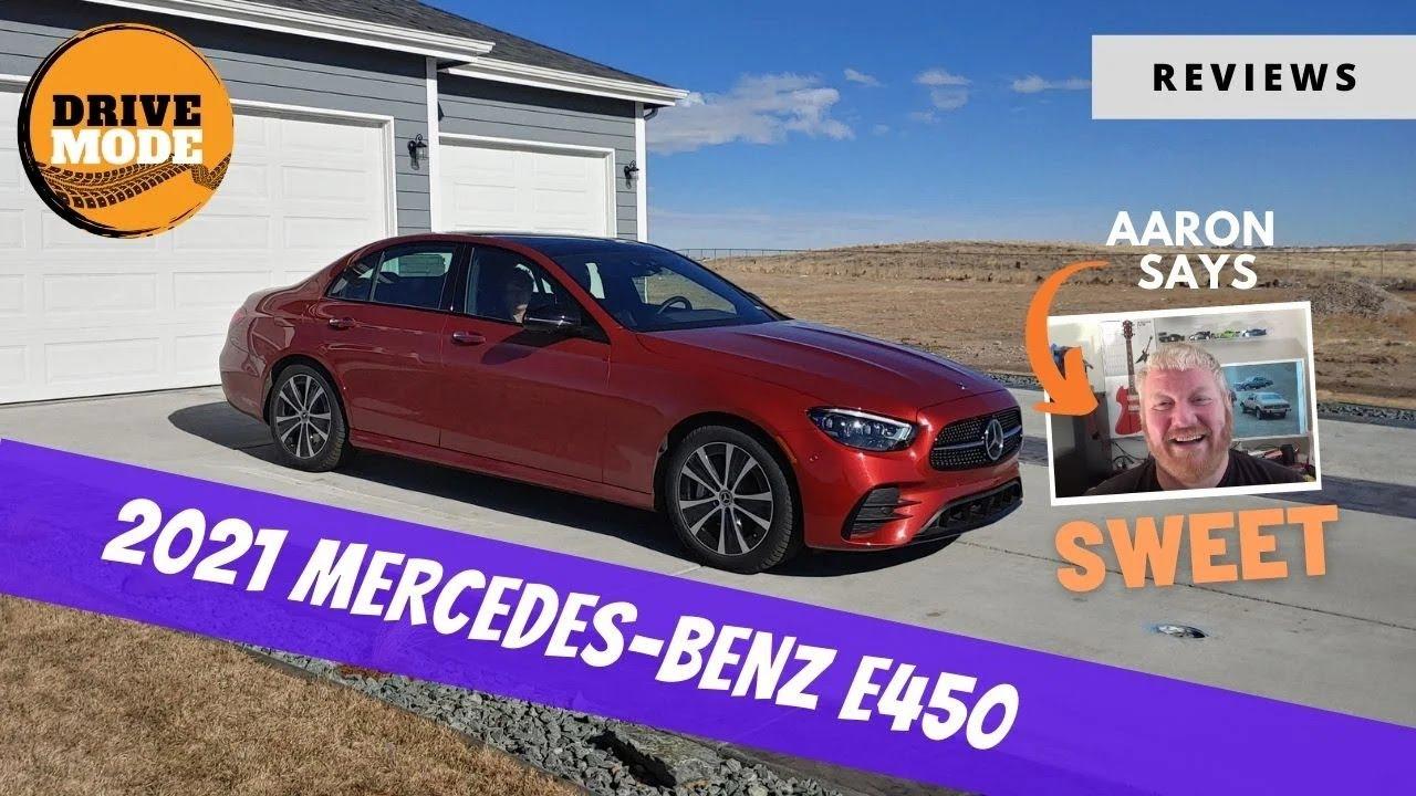 2021 Mercedes-Benz E450 is Lux Sedan Perfection