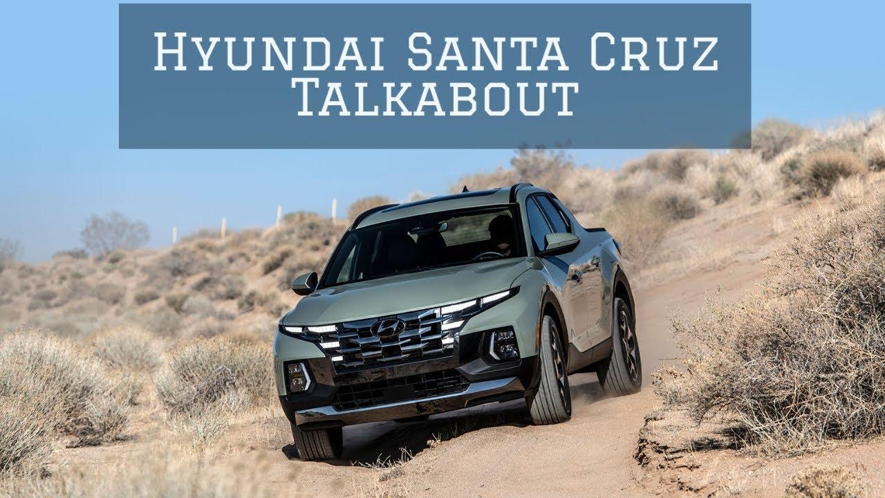 Hyundai Santa Cruz Talkabout