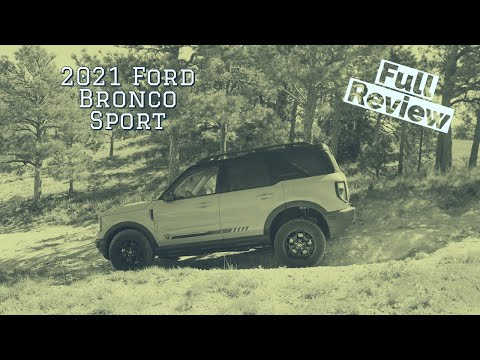 2021 Ford Bronco Sport is way better than I thought it'd be