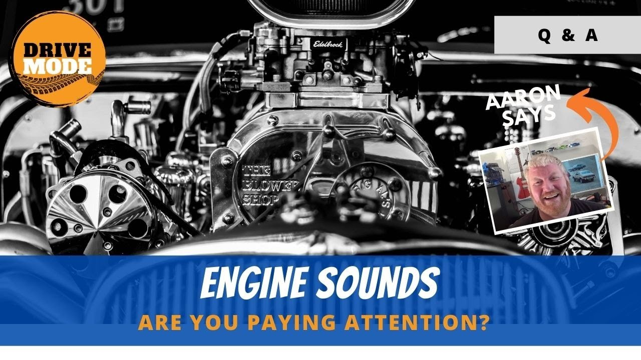 Q&A: Engine Sound and Why One Car Doesn't Sound Like Another
