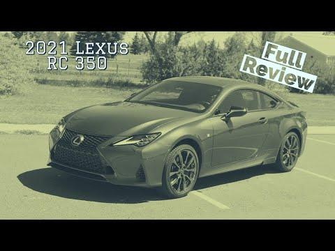 2021 Lexus RC 350 Review