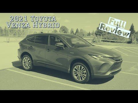 2021 Toyota Venza Hybrid Review