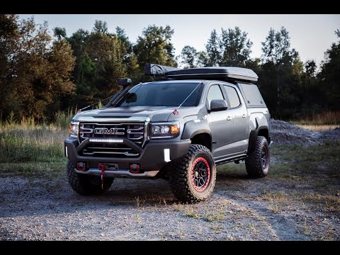 GMC Canyon AT4 OverlandX Concept Shown at Overland Expo