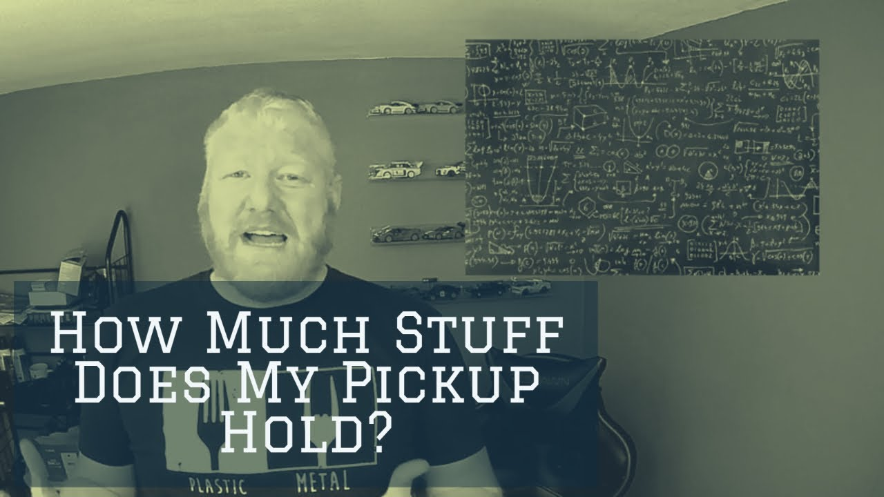 Pickup Truck Bed Capacities – How Much Stuff Can Your Truck Hold?