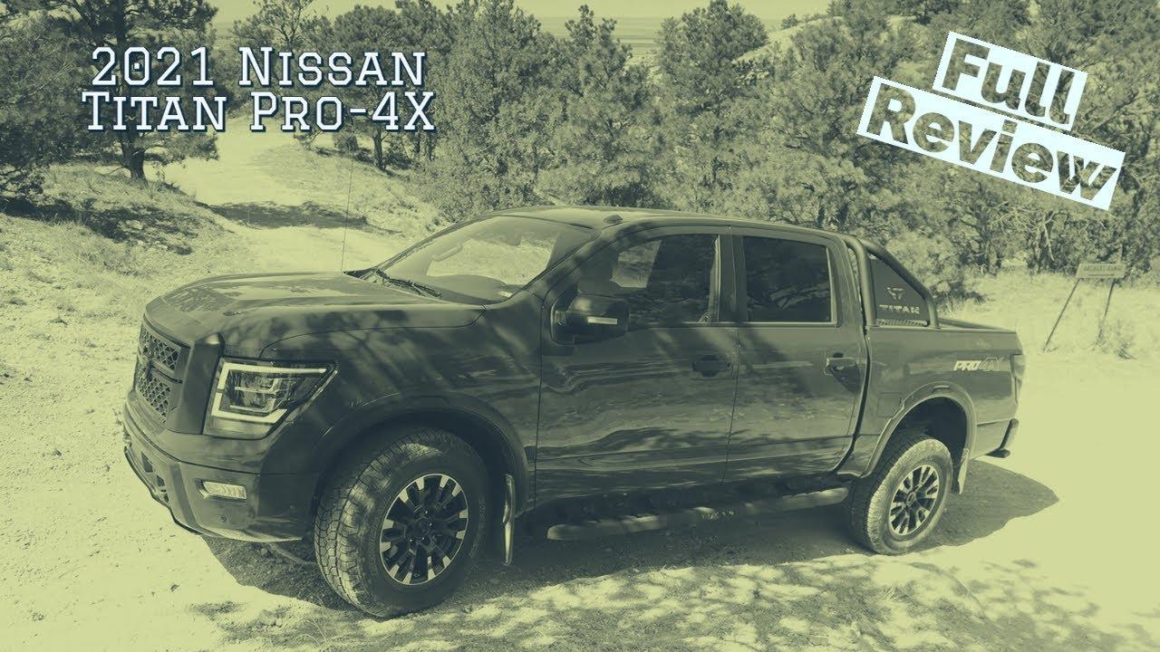 2021 Nissan Titan Pro 4X review