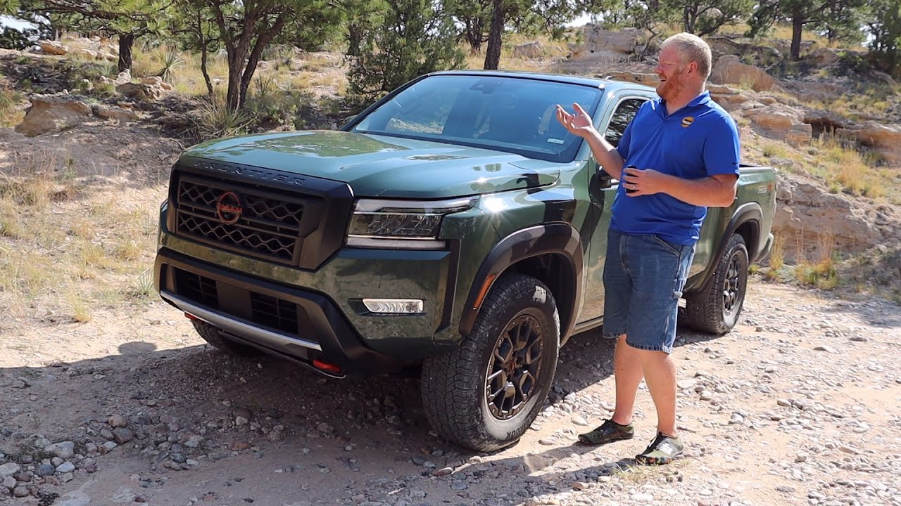 2022 Nissan Frontier is Diggetysome