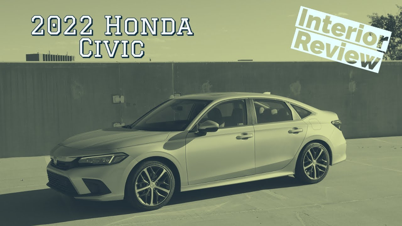 2022 Honda Civic interior walkthrough