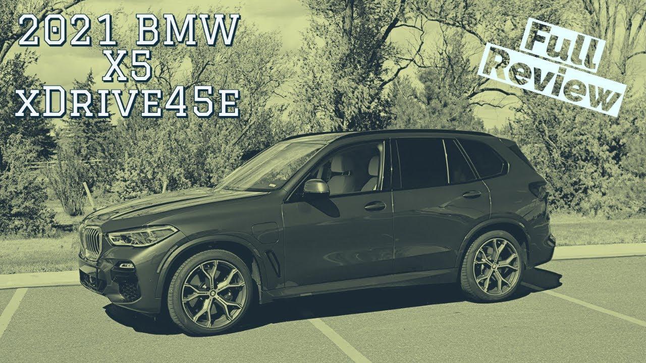 2021 BMW X5 xDrive45e Plug in Hybrid Review