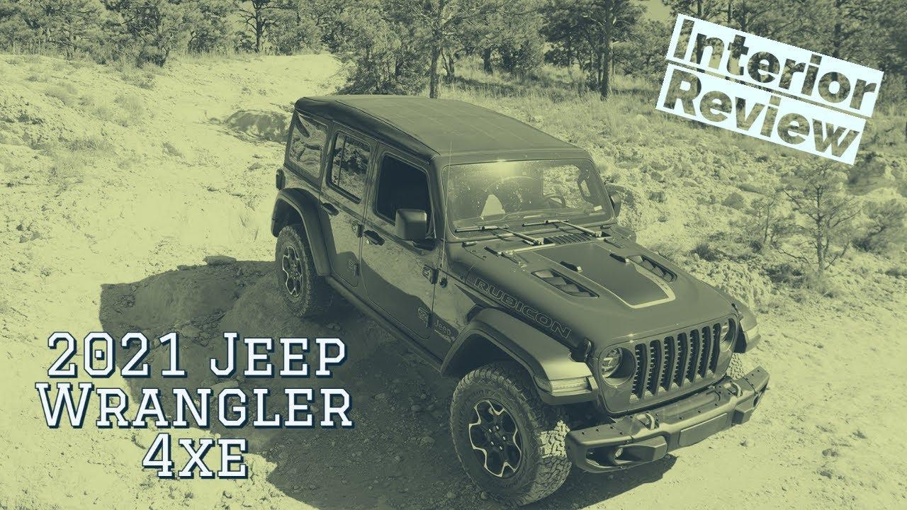 2021 Jeep Wrangler Rubicon 4xe interior walkthrough