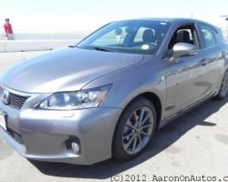 2012 Lexus CT 200h Premium – Hybrid Luxury In a Sport ...
